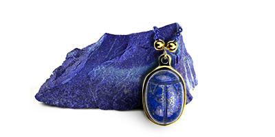 Rita & Zia Lapis lazuli