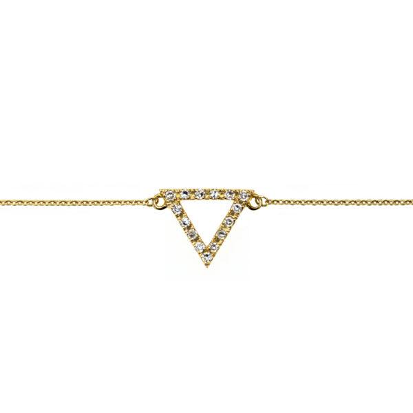 Bracelet Or triangle Rita & Zia