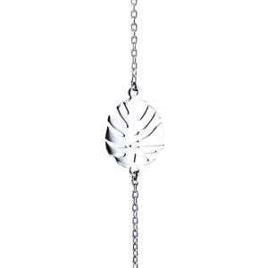 Bracelet Argent feuille