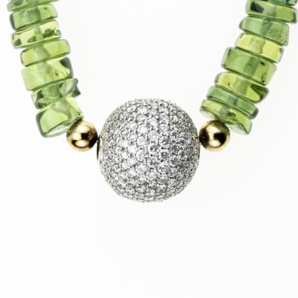 Collier Boule diamants Rita & Zia Or