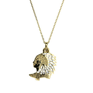 Collier_pendentif_Or_Indian