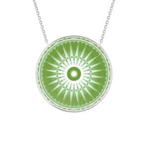Collier Dharma vert