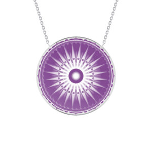 Collier Dharma violet