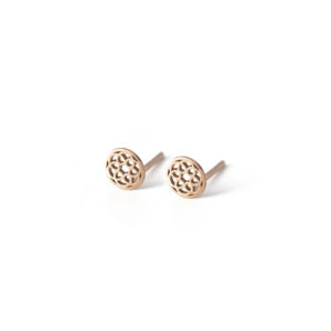Puce Oreille New Serenite Or Rose
