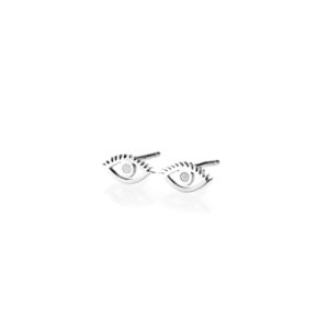 Puce Oreille Oeil Cils Or Blanc